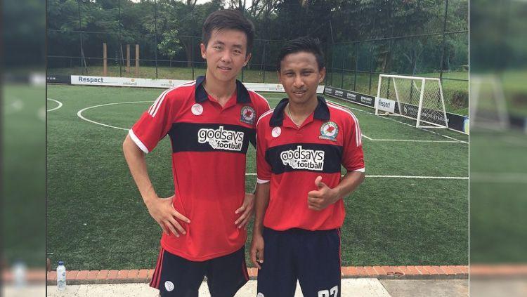 Irvin Museng (kiri). Copyright: © instagram@irvinmuseng