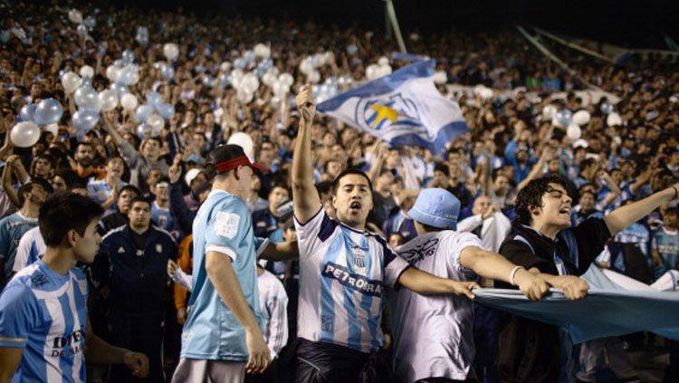 Hooligans dari Argentina, Barra Brava. Copyright: © INDOSPORT