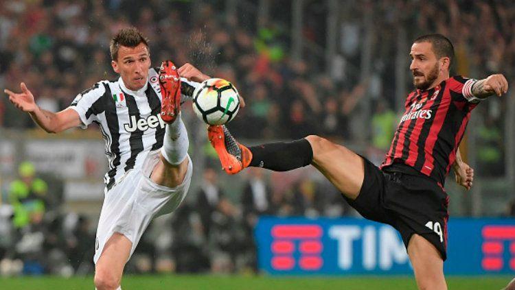 Juventus vs AC Milan. Copyright: © INDOSPORT