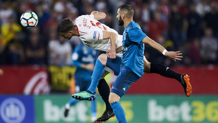 Sevilla vs Real Madrid. Copyright: © INDOSPORT