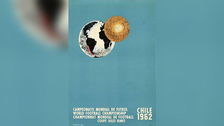 Logo Piala Dunia 1962. Copyright: © FIFA