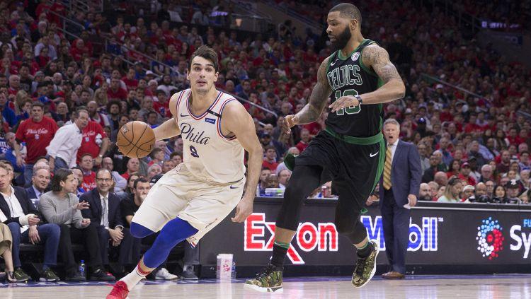 Boston Celtics v Philadelphia Copyright: © Indosport.com