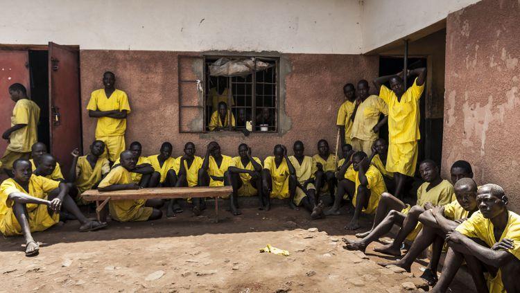Penjara Luzira, Uganda. Copyright: © davidbrunetti.com