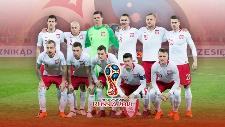 Timnas Football Polandia PD 2018 Copyright: © Grafis:Yanto/Indosport.com