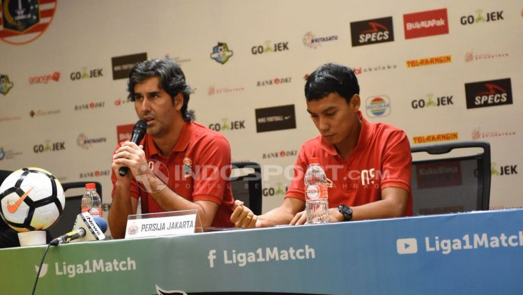 Persija vs Madura United. Copyright: © INDOSPORT/Herry Ibrahim