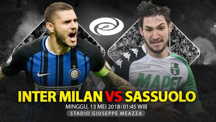 Prediksi Inter Milan vs Sassuolo. Copyright: © INDOSPORT