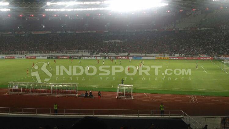 Persija Jakarta vs Madura United. Copyright: © Jerry Petrus Manus/INDOSPORT