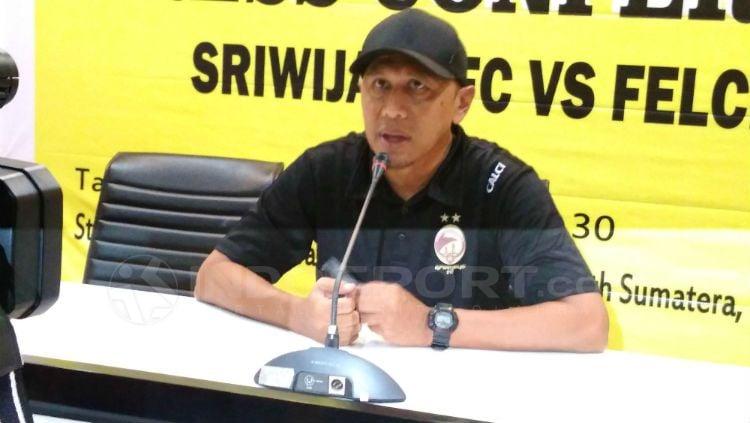 Pelatih Sriwijaya FC, Rahmad Darmawan Copyright: © Muhammad Effendi/INDOSPORT