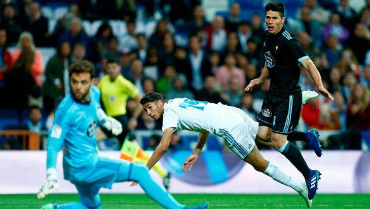Real Madrid vs Celta Vigo. Copyright: © INDOSPORT