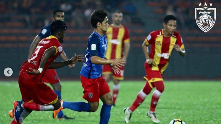 Selangor FA 2-2 JDT. Copyright: © officialjohor/Instagram