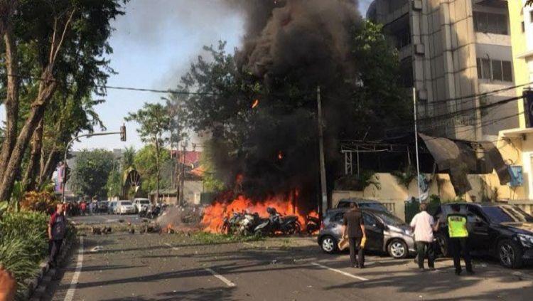 Ledakan bom terjadi di Gereja Surabaya Copyright: © Tribun Jatim