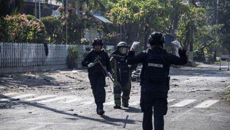 Bom Surabaya. Copyright: © CNN Breaking News