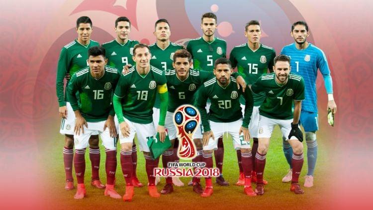 Timnas Meksiko. Copyright: © Grafis:Yanto/Indosport.com