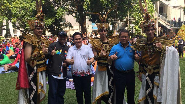 Parade Jelang Asian Games 2018 Copyright: © Media INASGOC