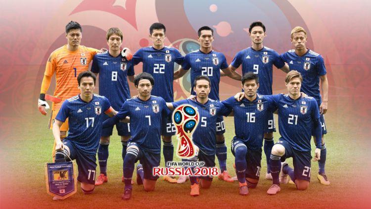 Timnas Football Jepang PD 2018 Copyright: © Grafis:Yanto/Indosport.com