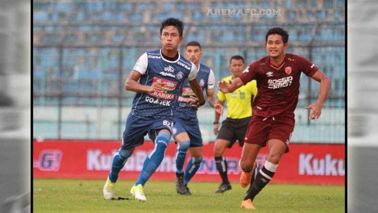 Arema FC vs PSM Makassar. Copyright: © AREMAFC.COM