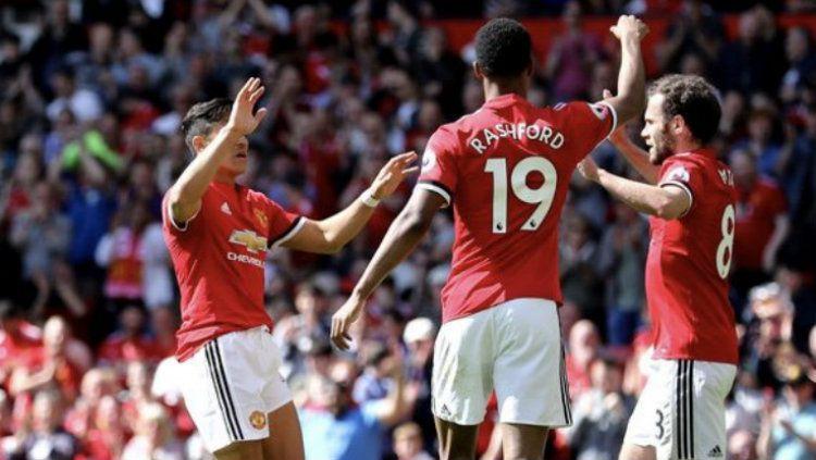 Manchester United vs Watford Copyright: © INDOSPORT