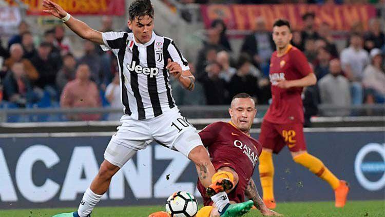 Pemain AS Roma vs Juventus. Copyright: © INDOSPORT
