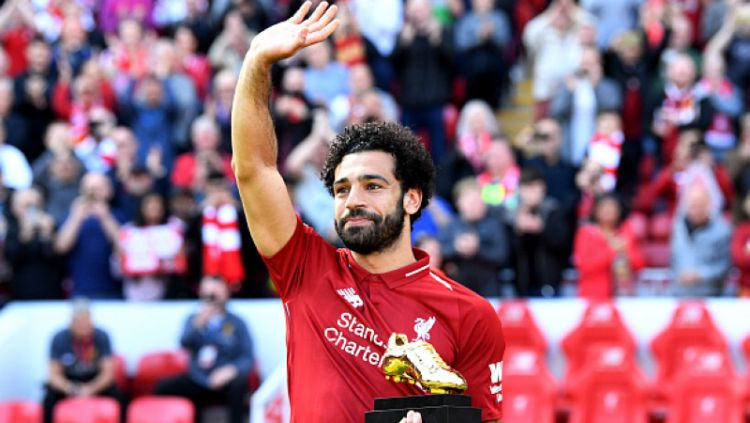 Mohamed Salah meraih Golden Boot Copyright: © INDOSPORT