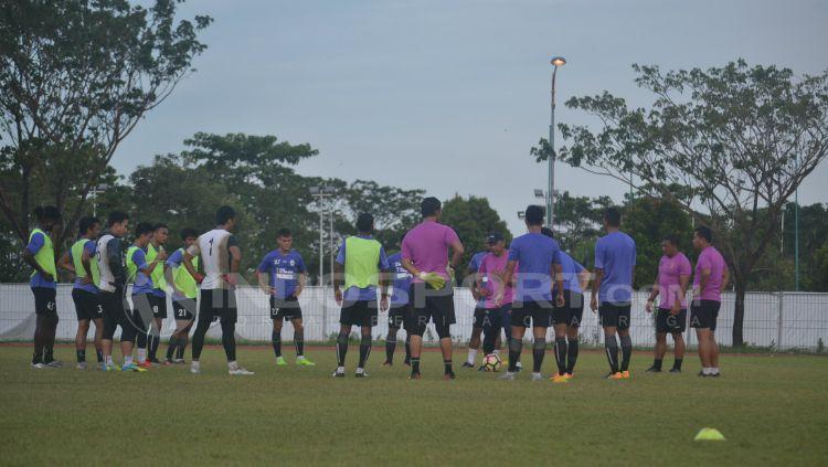 Suasana latihan Sriwijaya FC. Copyright: © Muhammad Effendi/INDOSPORT