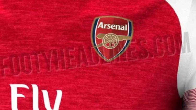Bocoran jersey Arsenal musim 2018/19. Copyright: © Footy Headlines