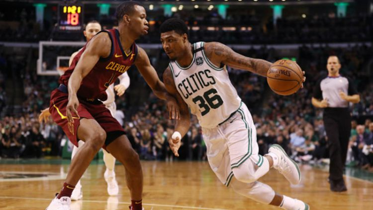 Cleveland Cavaliers vs Boston Celtics. Copyright: © INDOSPORT