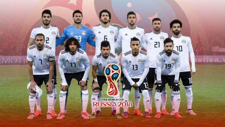 Timnas Mesir di Piala Dunia 2018. Copyright: © Grafis:Yanto/Indosport.com