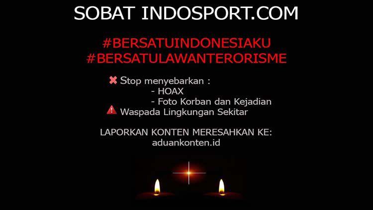 Bersatu lawan terorisme. Copyright: © INDOSPORT