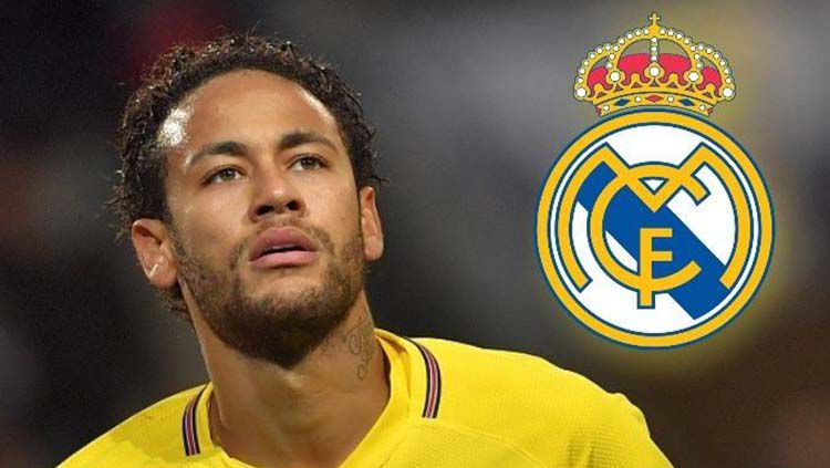 Neymar dan kepastian Real Madrid. Copyright: © talksport