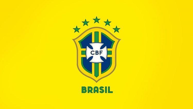 Logo Timnas Brasil. Copyright: © Newswags