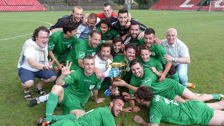 Padania, salah satu timnas sepak bola antah-berantah yang paling sukses dalam kejuaraan Piala Dunia non-FIFA. Copyright: © Internet.