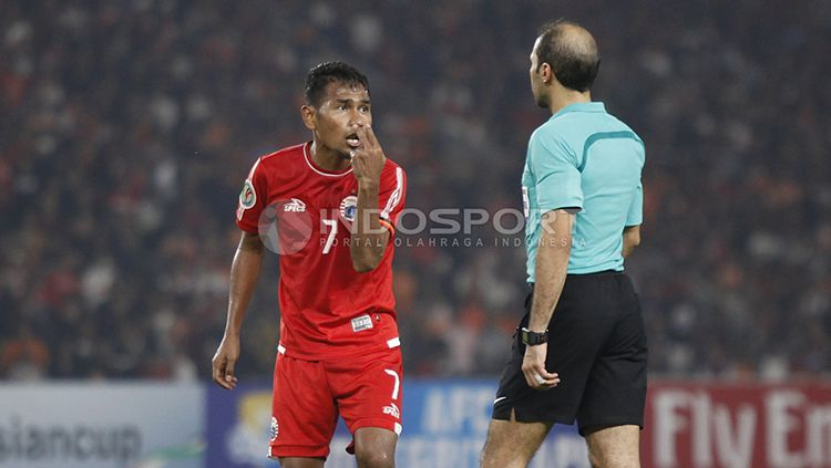 Persija Jakarta vs Home United. Copyright: © Herry Ibrahim/INDOSPORT