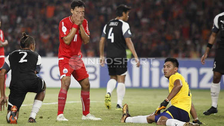 Persija Jakarta vs Home United. Copyright: © Herry Ibrahim/INDOSPORT