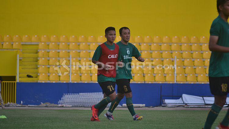 Pemain muda Sriwijaya FC, Syahrian Abimanyu. Copyright: © Muhammad Effendi/INDOSPORT