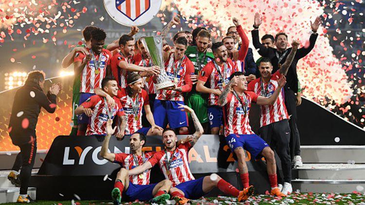 Atletico Madrid juara Liga Europa 2017/18. Copyright: © INDOSPORT