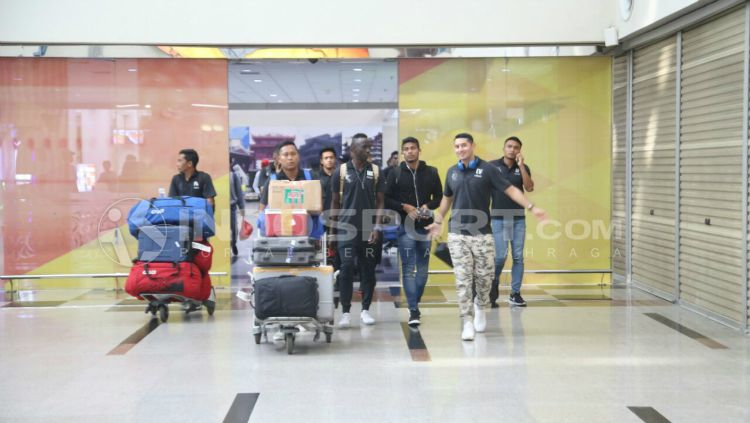 Sriwijaya FC akan menghadapi PSMS Medan. Copyright: © Muhammad Effendi/INDOSPORT