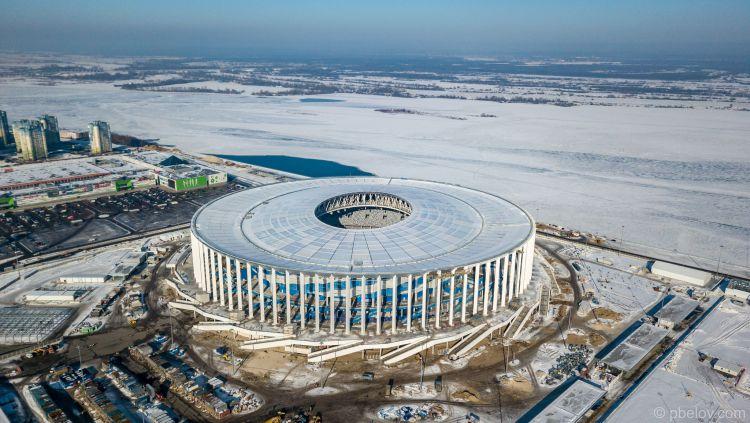 Nizhny Novgorod Stadium Copyright: © Skyscrapercity