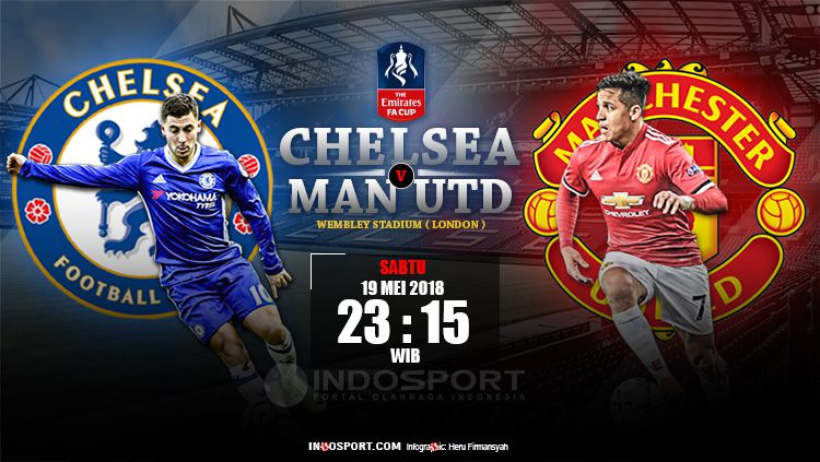 Link Live Streaming Chelsea Vs Manchester United Indosport