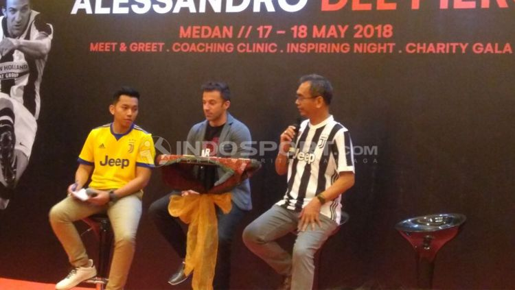 Alessandro Del Piero Copyright: © Kesuma Ramadhan/Indosport.com