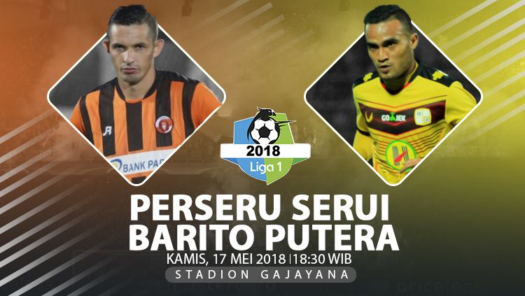 Perseru Serui vs Barito Putera Copyright: © Indosport.com