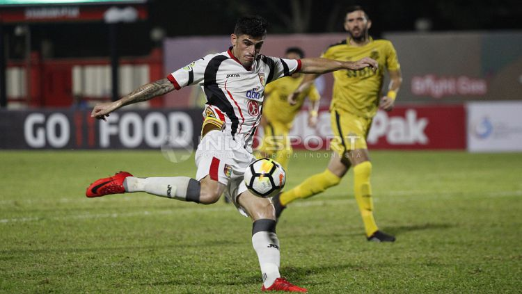 Fernando Rodriguez, salah satu striker Eropa yang bisa diboyong Persita Tangerang untuk Liga 1 2020. Copyright: © Herry Ibrahim/INDOSPORT