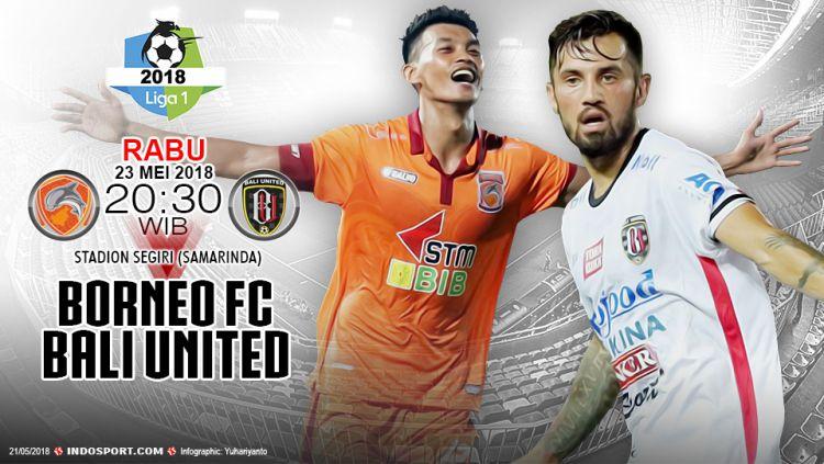 Prediksi Borneo FC vs Bali United Copyright: © Indosport.com