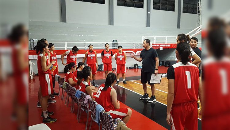 Timnas Basket Putri Indonesia. Copyright: © instagram @perbasi.ina