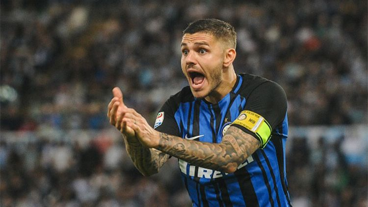Mauro Icardi bersama Inter Milan Copyright: © Getty Images