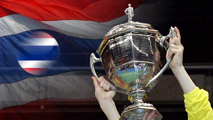 Indonesia menargetkan trofi Piala Thomas usai berhasil mencatat hattrick juara dalam ajang Badminton Asia Team Championships (BATC) 2020. Copyright: © Indosport.com