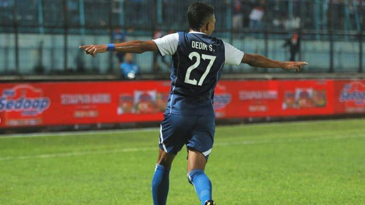 Arema FC vs Bhayangkara FC. Copyright: © aremafcofficial/Instagram