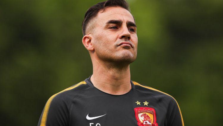 Fabio Cannavaro, pelatih Guangzhou Evergrande. Copyright: © Getty Image
