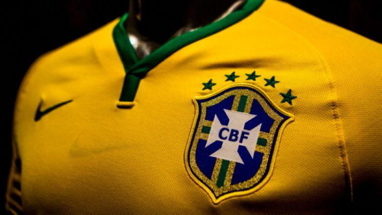 Jersey Timnas Brasil. Copyright: © Getty Image