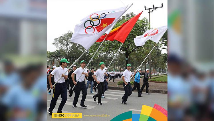 Parade Asian Games 2018. Copyright: © instagram@asiangames