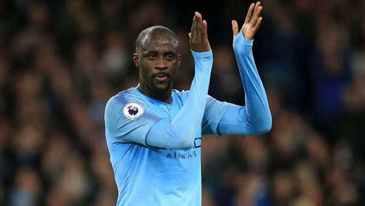 Pemain Manchester City, Yaya Toure. Copyright: © Getty Image